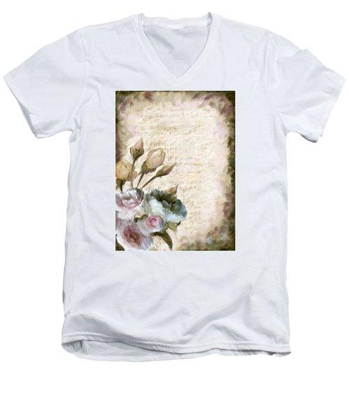 Ode To Love Men's V-Neck T-Shirt