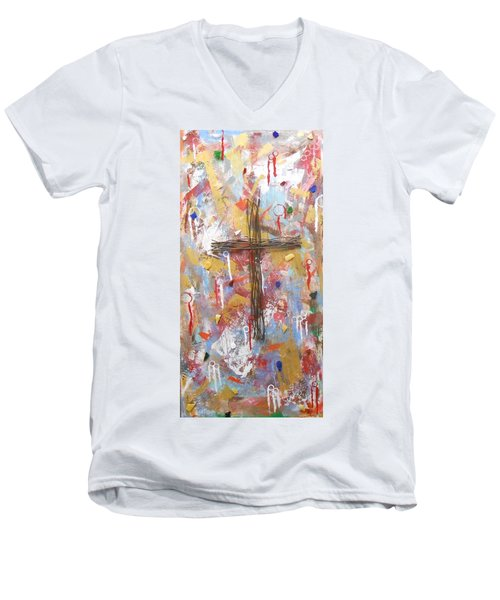 Oh Heavenly Father Men's V-Neck T-Shirt