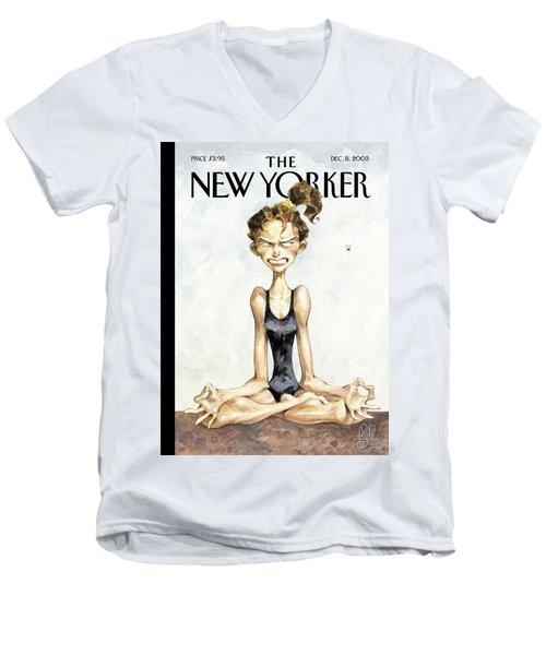 Ohmmm! Men's V-Neck T-Shirt