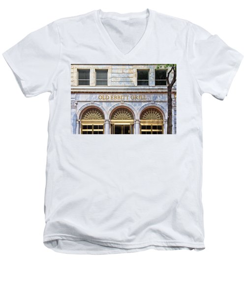Old Ebbitt Grill Men's V-Neck T-Shirt