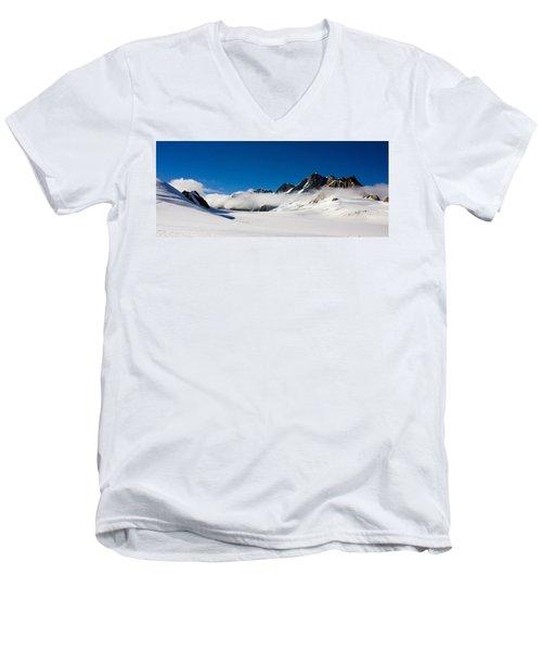 On Fox Glacier Men's V-Neck T-Shirt