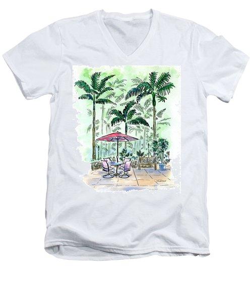 On The Lanai Men's V-Neck T-Shirt