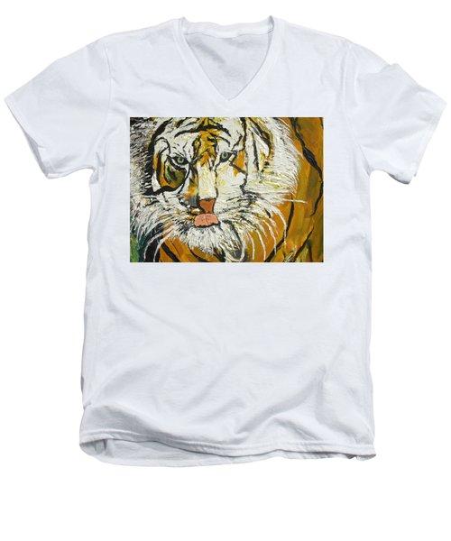 On The Prowl Zoom Men's V-Neck T-Shirt