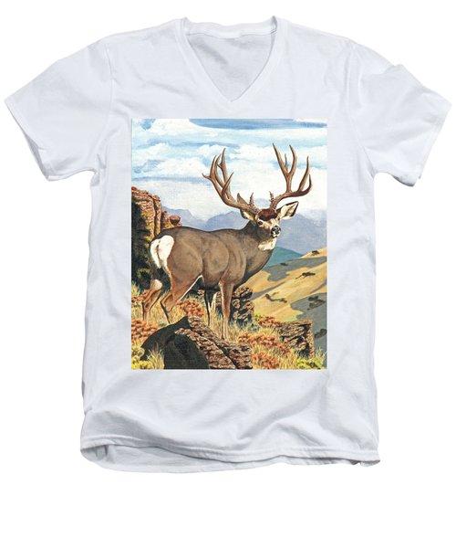 One Last Look Men's V-Neck T-Shirt