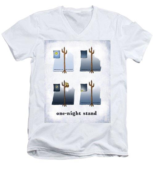 One Night Stand Men's V-Neck T-Shirt