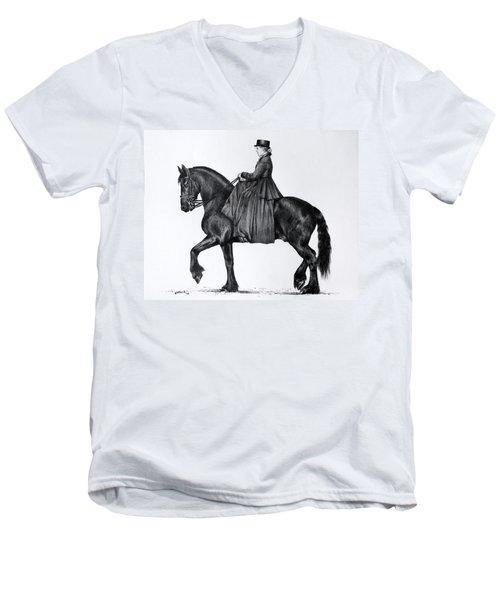 Onyx Men's V-Neck T-Shirt
