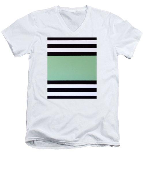 Opportunity Men's V-Neck T-Shirt by Thomas Gronowski
