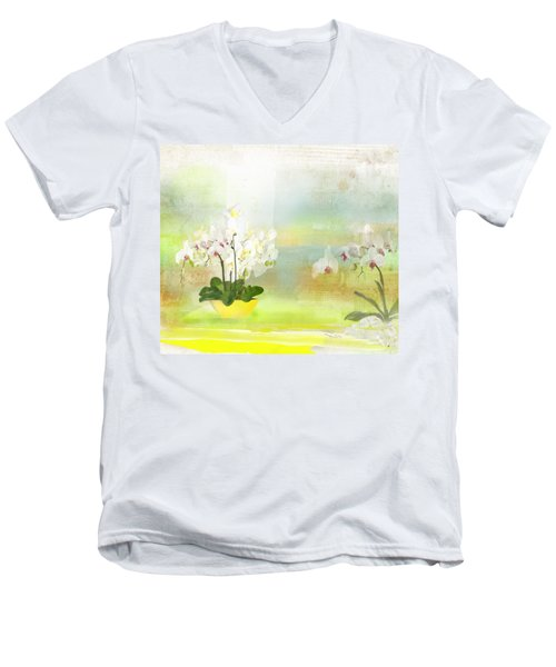 Orchids - Limited Edition 1 Of 10 Men's V-Neck T-Shirt