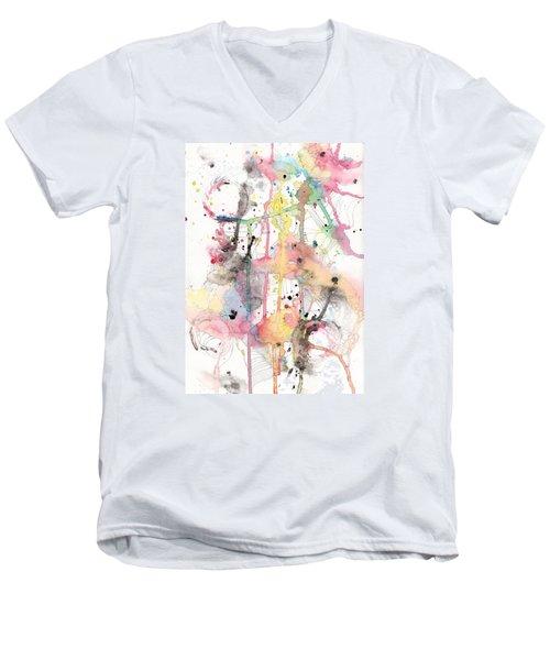 Organic Clash Men's V-Neck T-Shirt