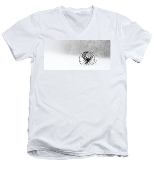 Out Of The Mist A Forgotten Era II Men's V-Neck T-Shirt