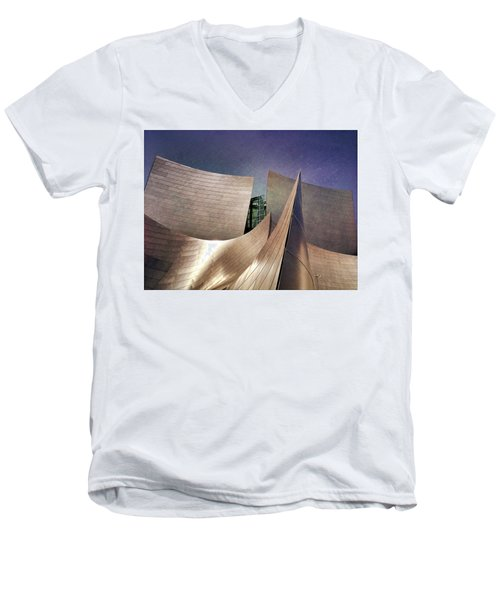 Outer Planes Men's V-Neck T-Shirt by Mark David Gerson