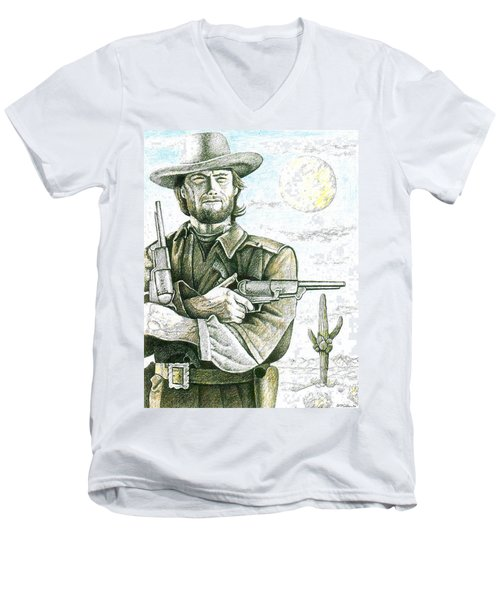 Outlaw Josey Wales Men's V-Neck T-Shirt