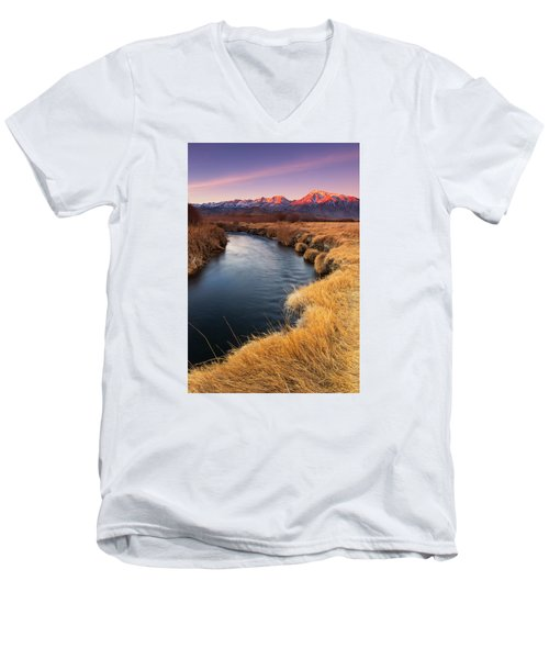 Owens River Men's V-Neck T-Shirt