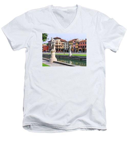 Padova Men's V-Neck T-Shirt by Oleg Zavarzin