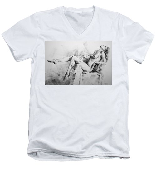 Page 11 Men's V-Neck T-Shirt