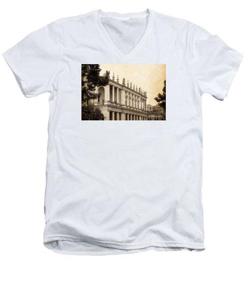 Palazzo Chiericati Men's V-Neck T-Shirt
