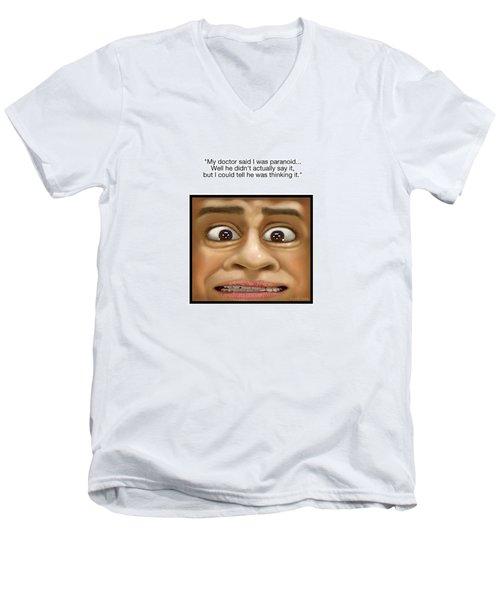 Paranoia Men's V-Neck T-Shirt