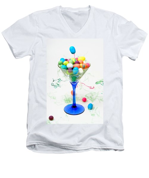 Party Time Men's V-Neck T-Shirt