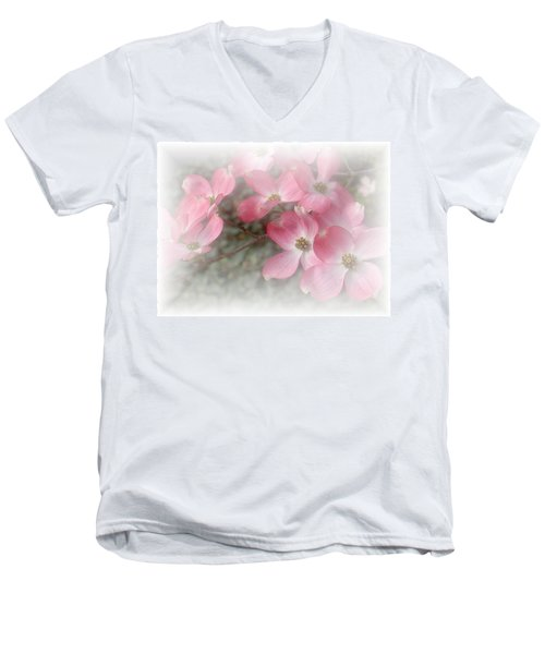 Pastels In Pink Men's V-Neck T-Shirt