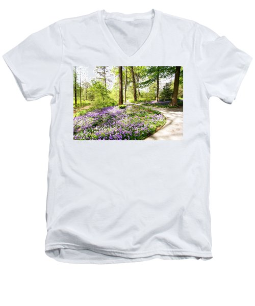 Path Of Serenity Men's V-Neck T-Shirt