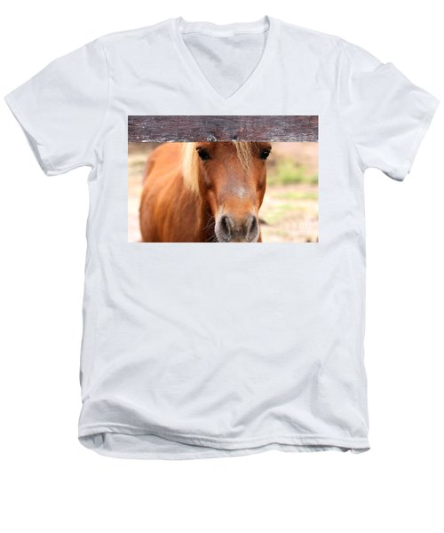 Peaking Pony Men's V-Neck T-Shirt