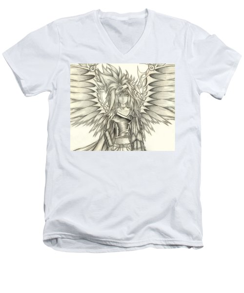 Pelusis God Of Law And Order Men's V-Neck T-Shirt