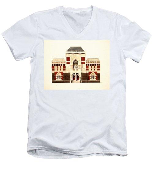 Pennsylvania Academy Of Fine Art Men's V-Neck T-Shirt