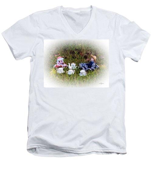 Picnic For Dolls Men's V-Neck T-Shirt
