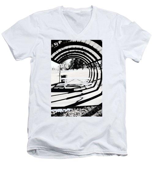 Picnic Table And Gazebo Men's V-Neck T-Shirt
