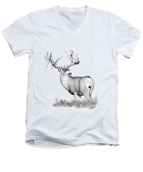 Pilot Monarch Men's V-Neck T-Shirt