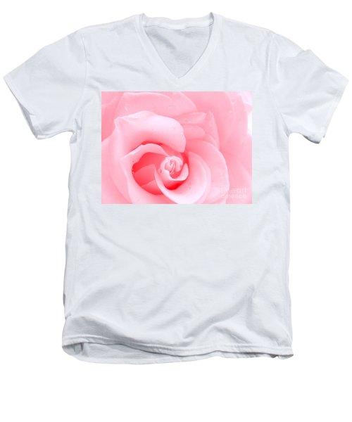 Love Me Tender Men's V-Neck T-Shirt by Patti Whitten