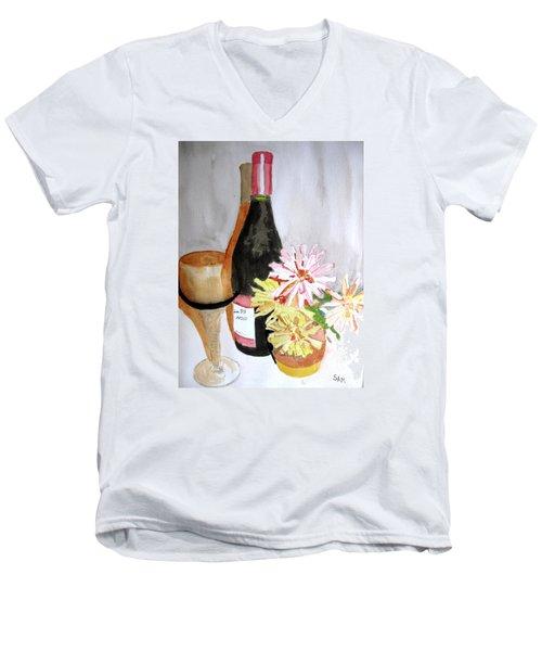 Pinot Noir Men's V-Neck T-Shirt