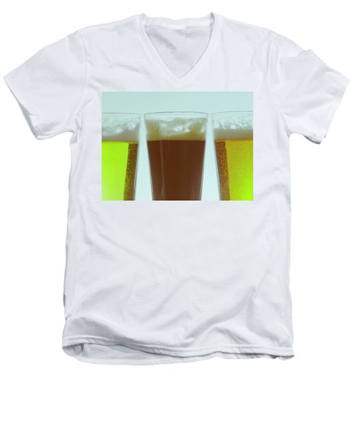Pints Of Beer Men's V-Neck T-Shirt