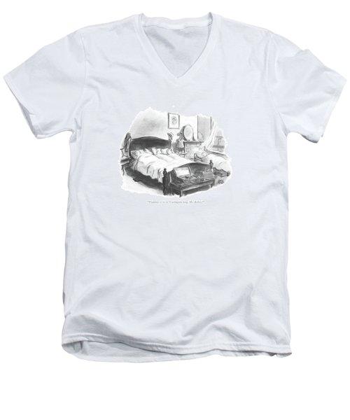 Planning To Be In Washington Long Men's V-Neck T-Shirt