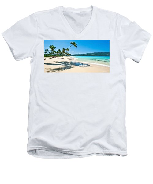Playa Rincon Men's V-Neck T-Shirt
