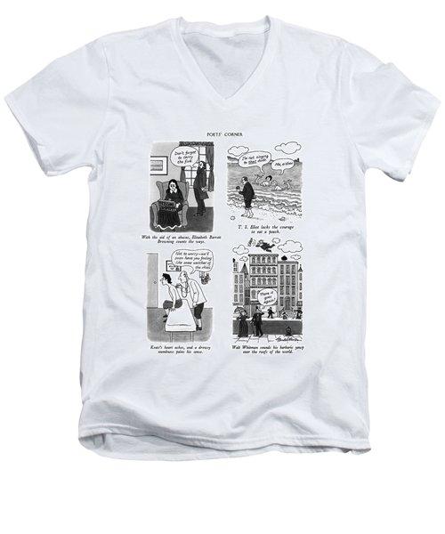 Poets' Corner Men's V-Neck T-Shirt