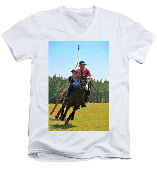 Polo Men's V-Neck T-Shirt