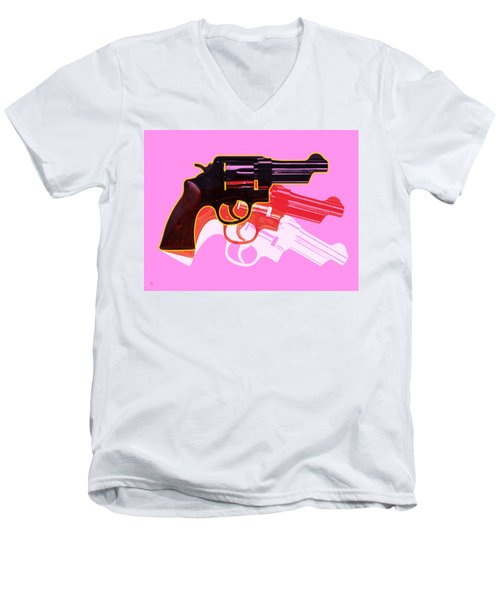 Pop Handgun Men's V-Neck T-Shirt