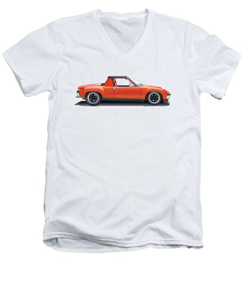 Porsche 914-6 Gt Men's V-Neck T-Shirt