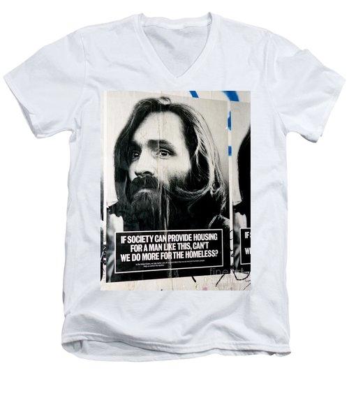 Poster Boy Charlie Men's V-Neck T-Shirt