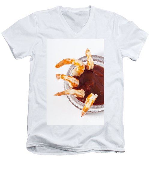 Prawn Cocktail Men's V-Neck T-Shirt