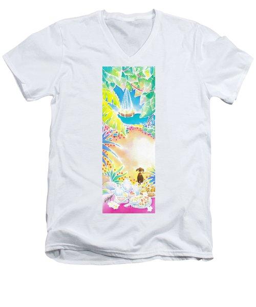 Precious Morning Men's V-Neck T-Shirt
