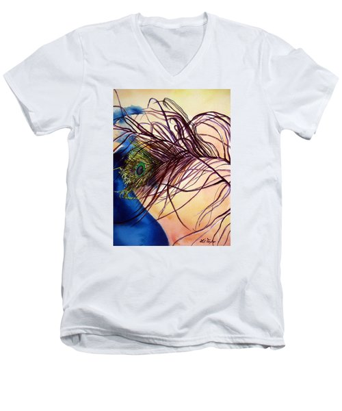 Preening For Attention Sold Men's V-Neck T-Shirt by Lil Taylor