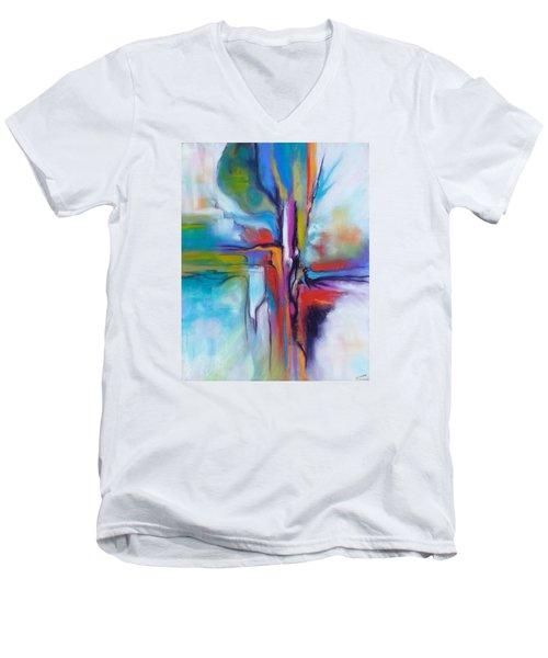 Prendere Il Volo Men's V-Neck T-Shirt