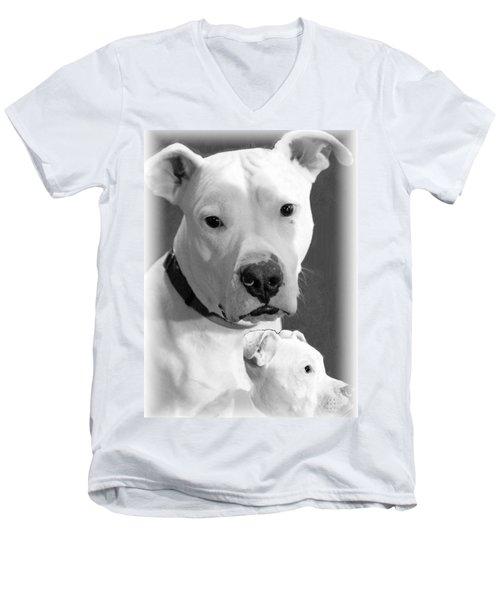 Men's V-Neck T-Shirt featuring the photograph Prettyboy by Robert McCubbin