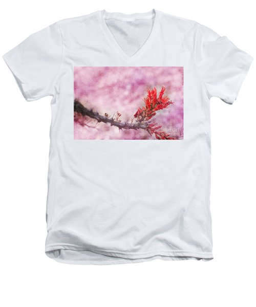 Prickly Beauty Men's V-Neck T-Shirt