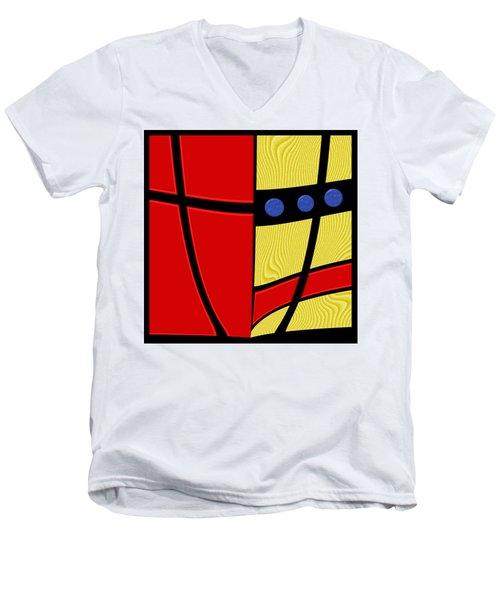 Primary Motivations 2 Men's V-Neck T-Shirt by Wendy J St Christopher