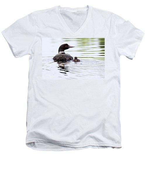 Proud Parent Men's V-Neck T-Shirt