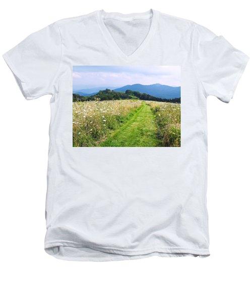 Purchase Knob Men's V-Neck T-Shirt by Melinda Fawver