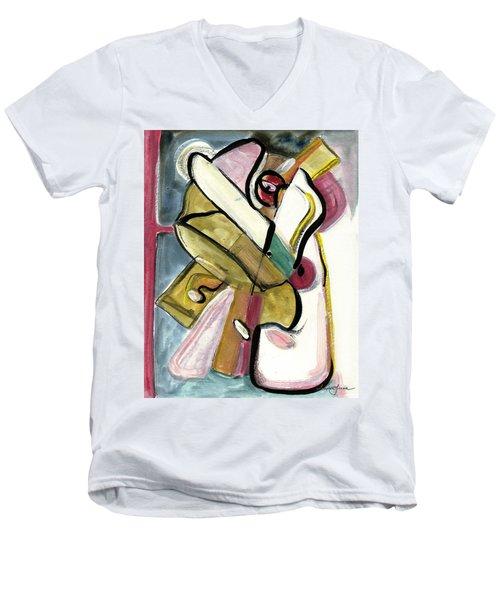 Pure Gold Men's V-Neck T-Shirt